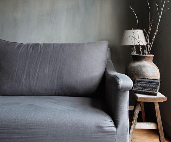 25 beste idee n over linnen bank op pinterest linnen sofa moderne bank en moderne bank - Bank cabriolet linnen ...