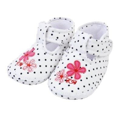 Pusat Sepatu Branded Online - Cukup Polka & Periwinkle Gadis lembut Soles Velcro Crib Sepatu (Bayi / Balita) | Pusat Sepatu Bayi Terbesar dan Terlengkap Se indonesia