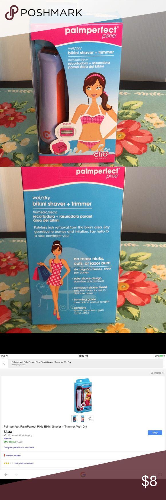 Palmperfect pixie bikini shaver + trimmer Brand new Accessories
