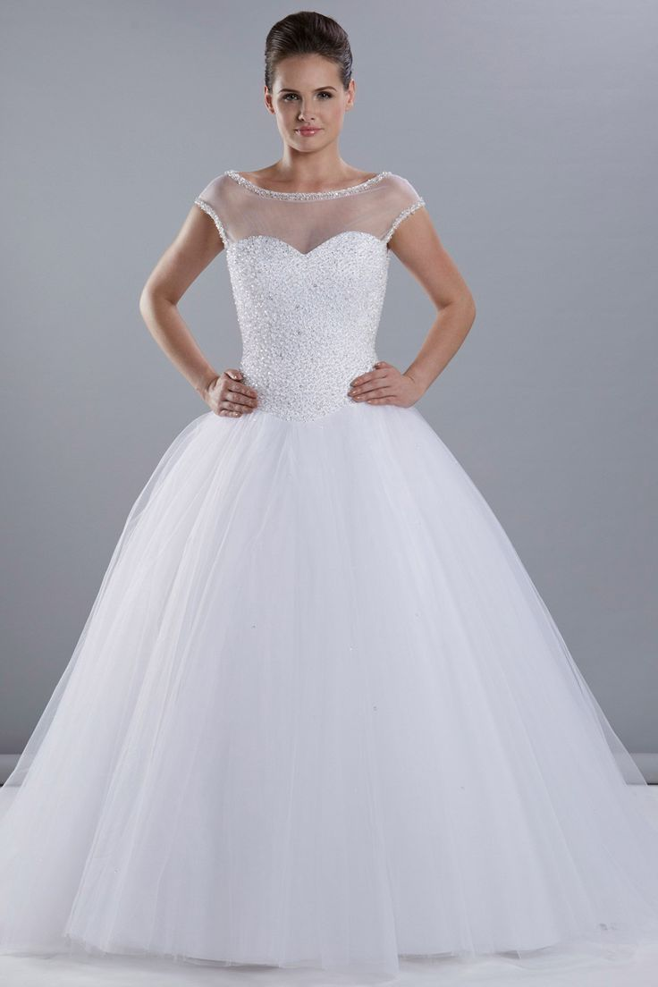 This Beautiful Gown Is A Real Show Stopper Volume And Detail Exclusively Bridal
