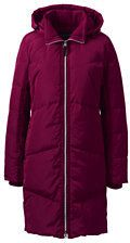 Lands' End Women's Plus Size Petite Won't Let You Down Coat-Forest Night