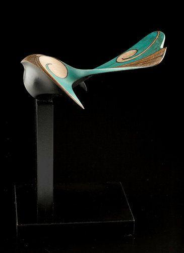Piwakawaka • New Zealand Fantail by Rex Homan, Māori artist