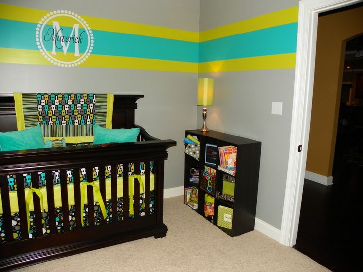 I like the painting on the wall. The colors are too much like Corbin's but maybe mix it up a little