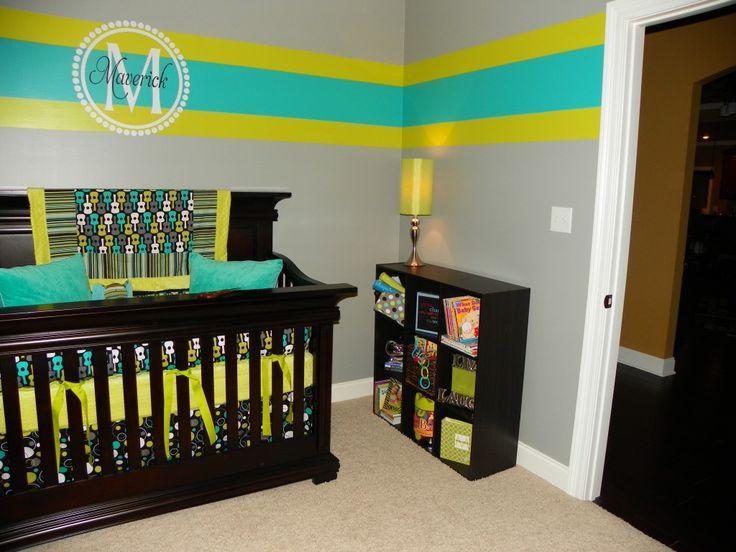 Décorer avec de la couleur la chambre de bébé.