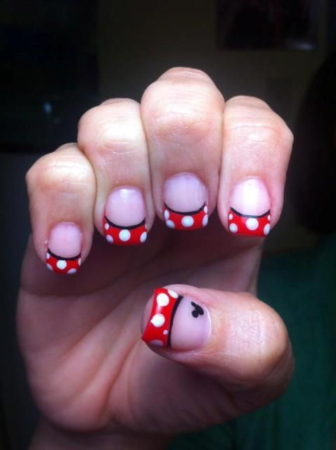 Disney nails - for my disney girls, @Heather Creswell Mesa and @Jenn L Strefling