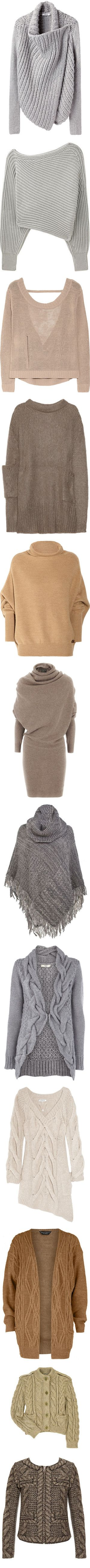 Knit by olivia-richter on Polyvore featuring tops, cardigans, sweaters, outerwear, jackets, long grey cardigan, long cardigan, long sleeve cardigan, slim fit cardigan and long tops