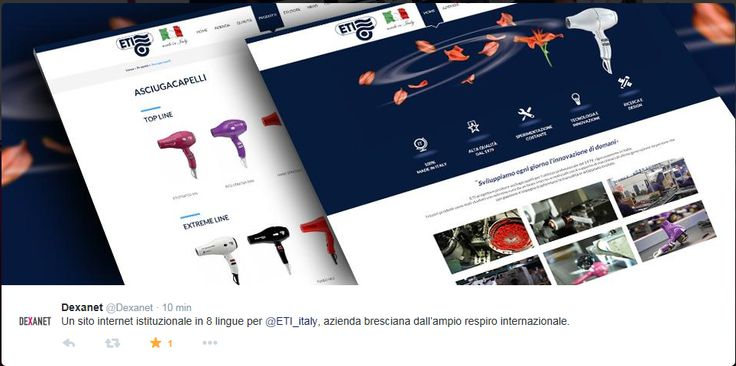 www.eti-italy.com powered by Dexanet  Professional #hair dryer