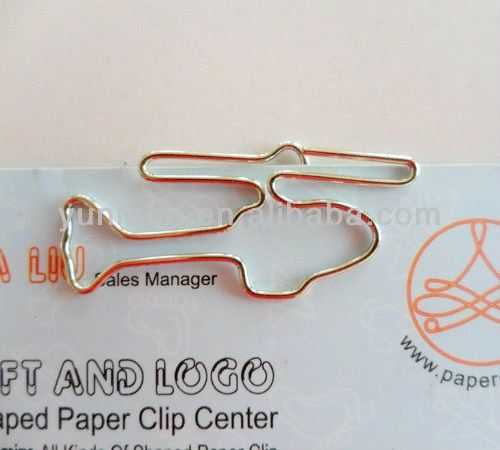 P252--Helicopter Shaped Paperclip Craft for gifts and toy