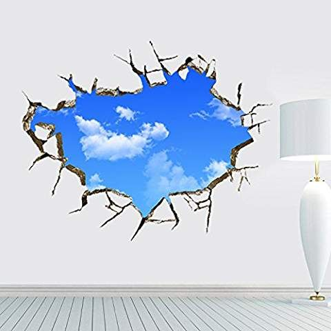#3D wall stickers and art to make an impact in your rooms #decor #decorate #interiordesign #kids #Christmas #ideas