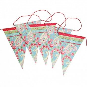 Paisley Park Paper Bunting