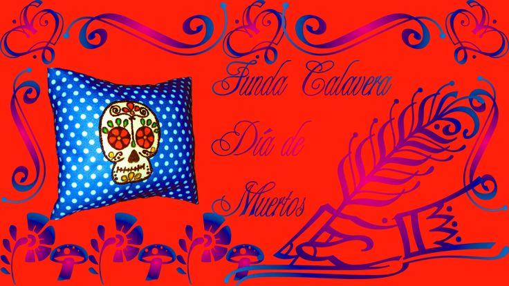 6.4.2 Holidays: Funda Calavera Día de Muertos (DIY) {Estuche de Monerías...