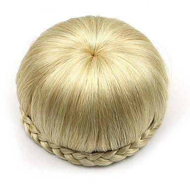 kinky+krullend+goud+europa+bruid+menselijk+haar+pruiken+capless+chignons+sp-002+1003+–+EUR+€+7.94