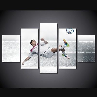 Lionel-Messi-Football-Barcelona-Team-Painting-Canvas-Wall-Art-Home-Decor-5-piece