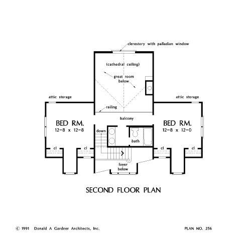 second floor--The Woodland