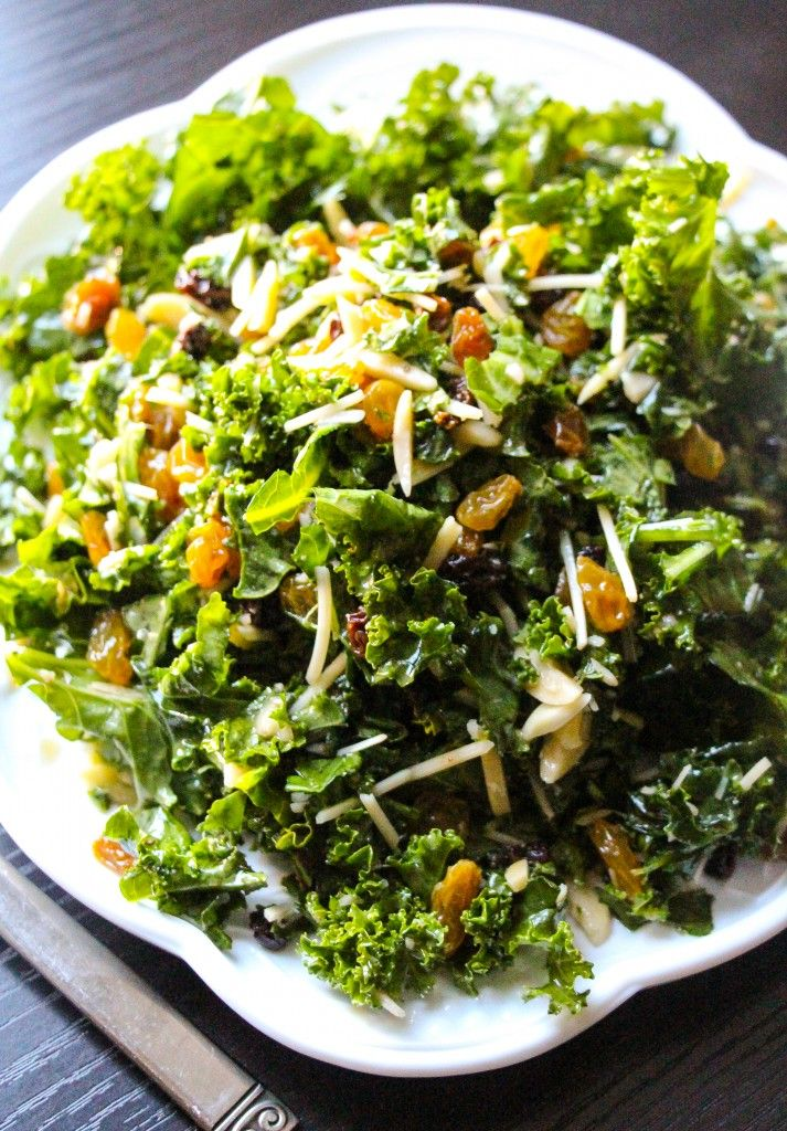 Lemon Parmesan Kale Salad. - Layers of Happiness