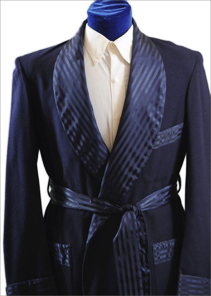 Posh 1940's - 50's Men's Smoking Jacket