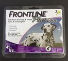 Frontline Plus For Dogs 44-88 lbs