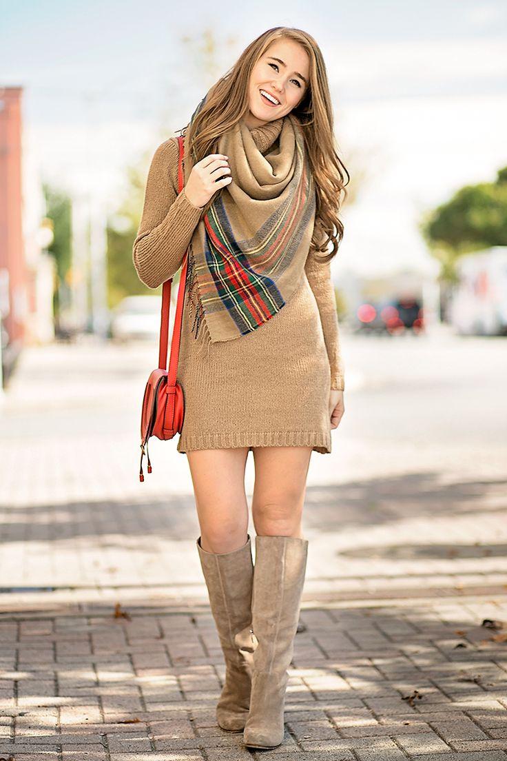 Friends X Revolve Kai Sweater Dress In Camel