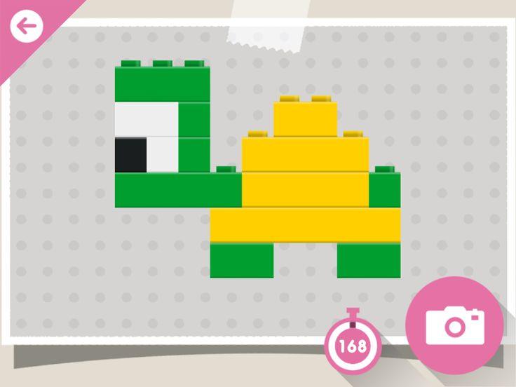 Lego turtle Foto Fien wil deze schildpad graag namaken