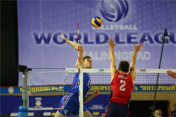 FIVB World League. Результаты игр в Калининграде — AmberSport