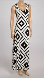 diamond maxi BLACK & WHITE SEPARATES AS LOW AS $9.99 ~: Maxi Dresses, Adrienne Zulilyfind, Maxis, Black White, Dresses Zulili, White Diamonds, Diamonds Maxi, White Separates, Adrienne Black