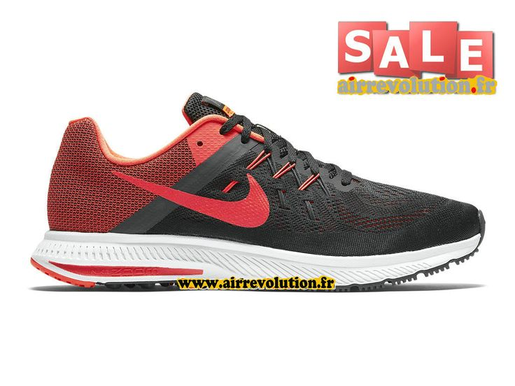 competitive price 68041 63d7d canada nike zoom winflo 2 chaussure de running nike pas cher pour homme  noir anthracite 600ff