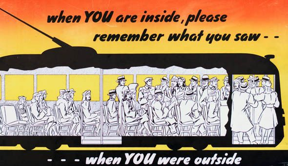 ttc subway cards advertisements remember saw