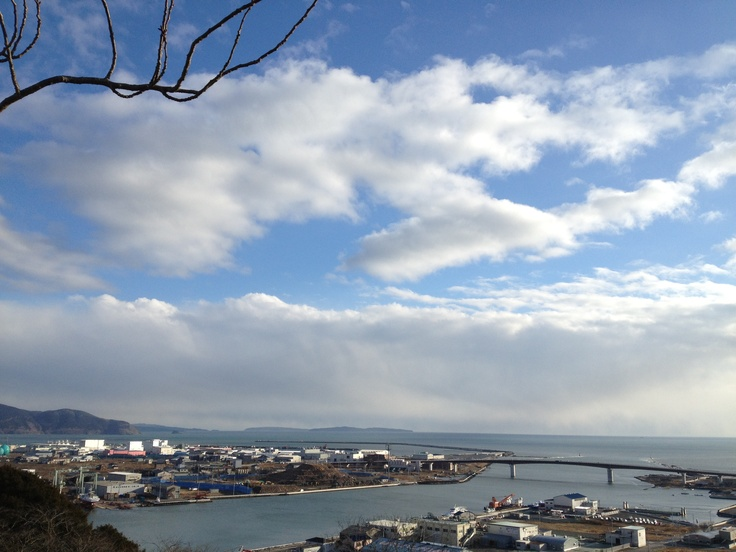 Mt Hiyori in Ishinomaki