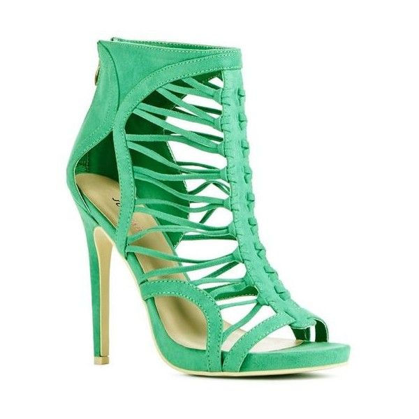The 25  best Green strappy high heels ideas on Pinterest | Green ...