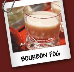 Bourbon fog Ingredientes: • 25 cc de Whisky • 25 cc de Café • 25 cc de Helado de Vainilla