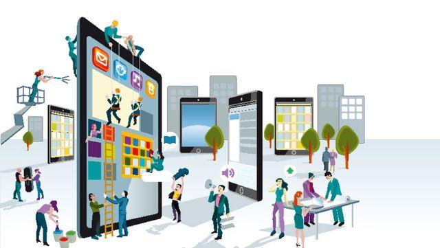 نتيجة بحث الصور عن التكنولوجيا والاعلام Mobile Advertising Digital Marketing Mobile Marketing