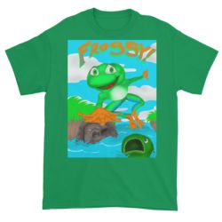 Official Frogsy! Short sleeve t-shirt!