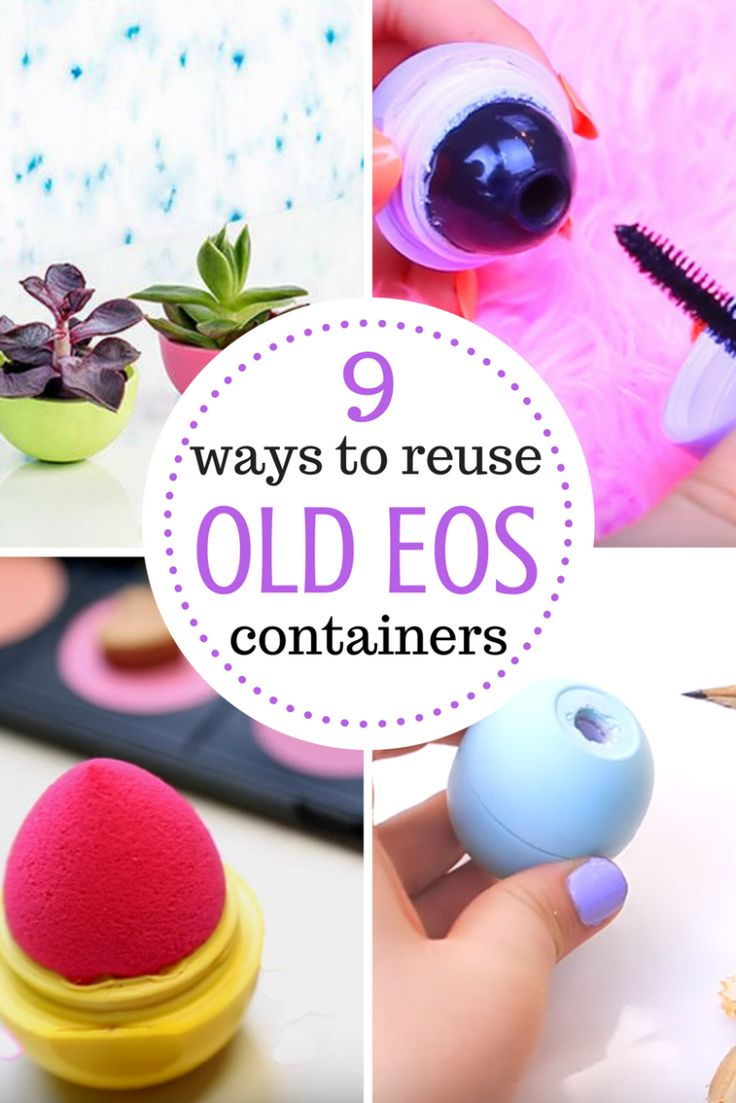 Reuse Your EOS Containers, Repurpose Projects, Repurpose Crafts, Home, Reuse, Upcycled #Upcycle