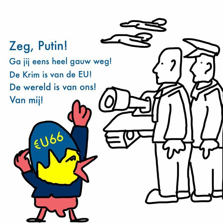 Heel Rusland is eigenlijk van de €U!