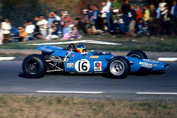 Johnny Servoz-Gavin (Matra MS84 Cosworth) Grand Prix des USA - Watkins Glen 1969 - Carros e Pilotos.