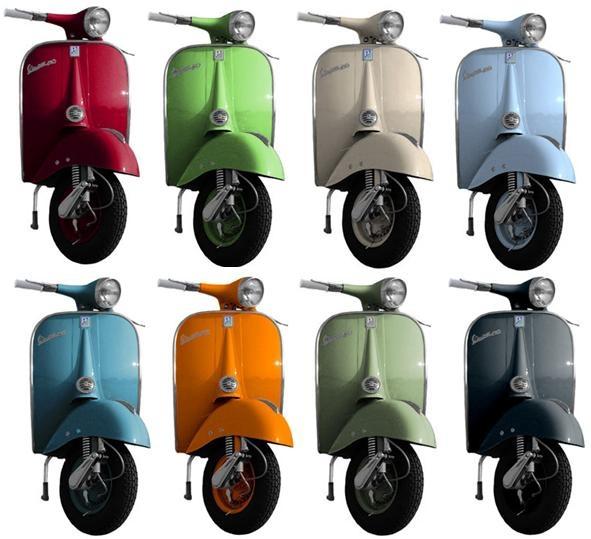 Lambretta Paint Colour
