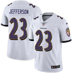 Nike Ravens #23 Tony Jefferson White Men's Stitched NFL Vapor Untouchable Limited Jersey