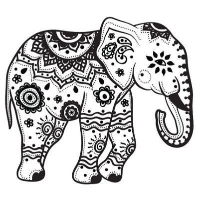 indian elephant designs - Google Search