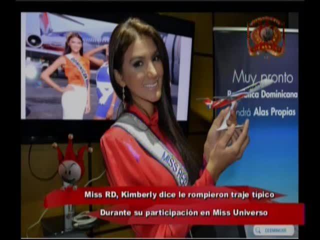 Kimberly Castillo Dice Que Le Rompieron Su Traje Típico Durante Su Participación En Miss Universo #Video