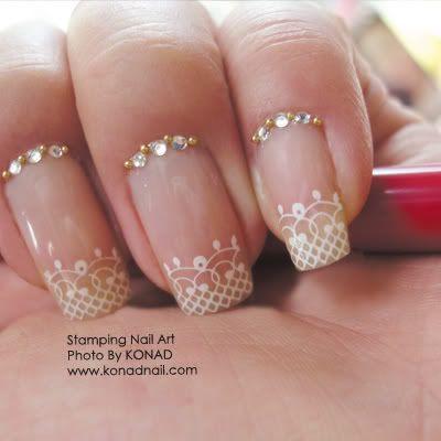 Nail Designs for Wedding Day | bridal-nail-designs-wedding-nail-art-suslu-tirnaklar-ojeler-1.jpg