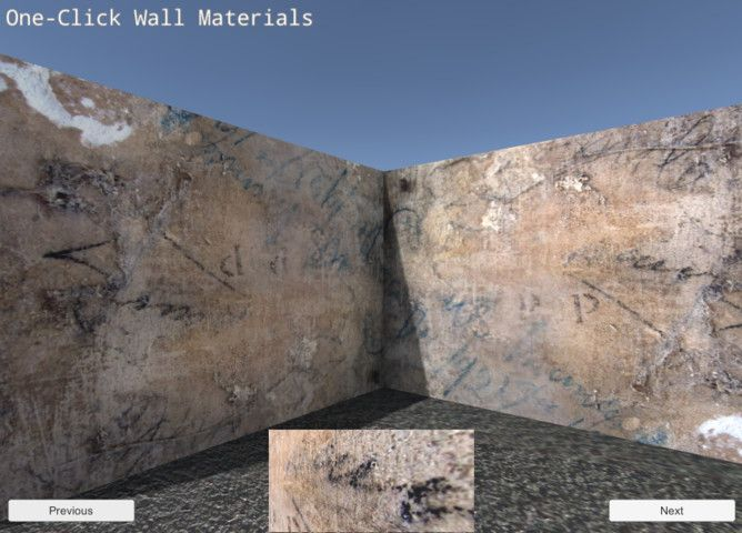 One Click Wall Materials Sponsored 2d Wall Click Materials Amp