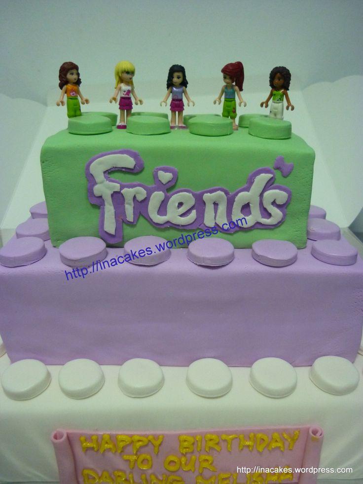 Lego Friends Cake Recipe