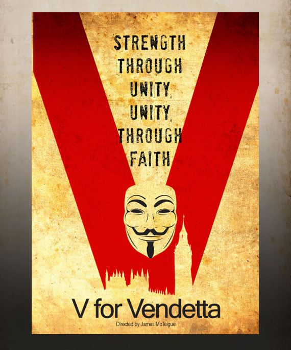 Hey, I found this really awesome Etsy listing at https://www.etsy.com/listing/90035070/v-for-vendetta-a3-poster-vintage-print