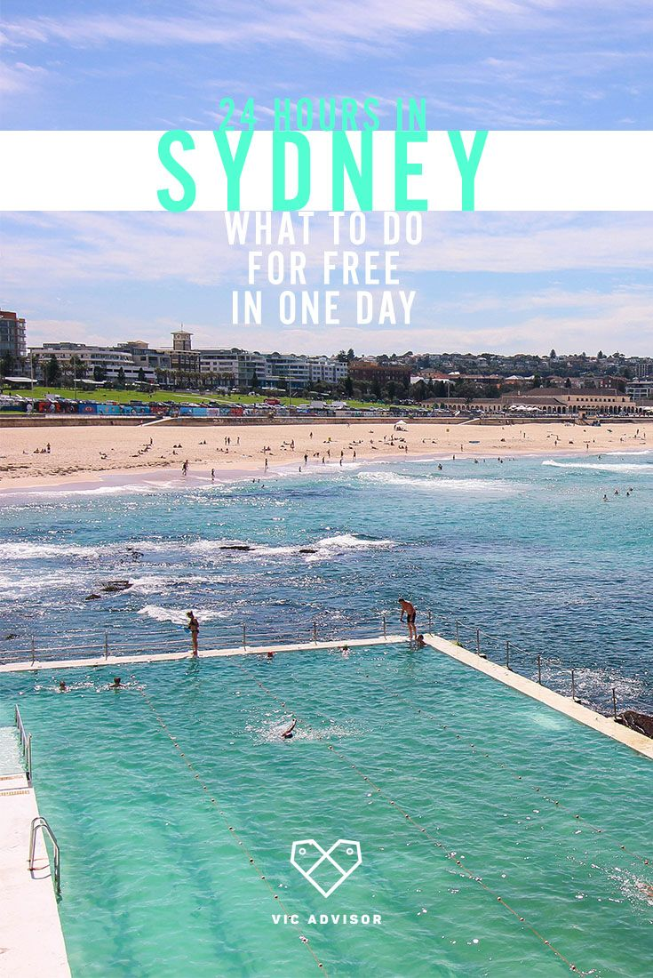 Short on time? Here's how you can make the most of a 24 hour visit to Sydney!
