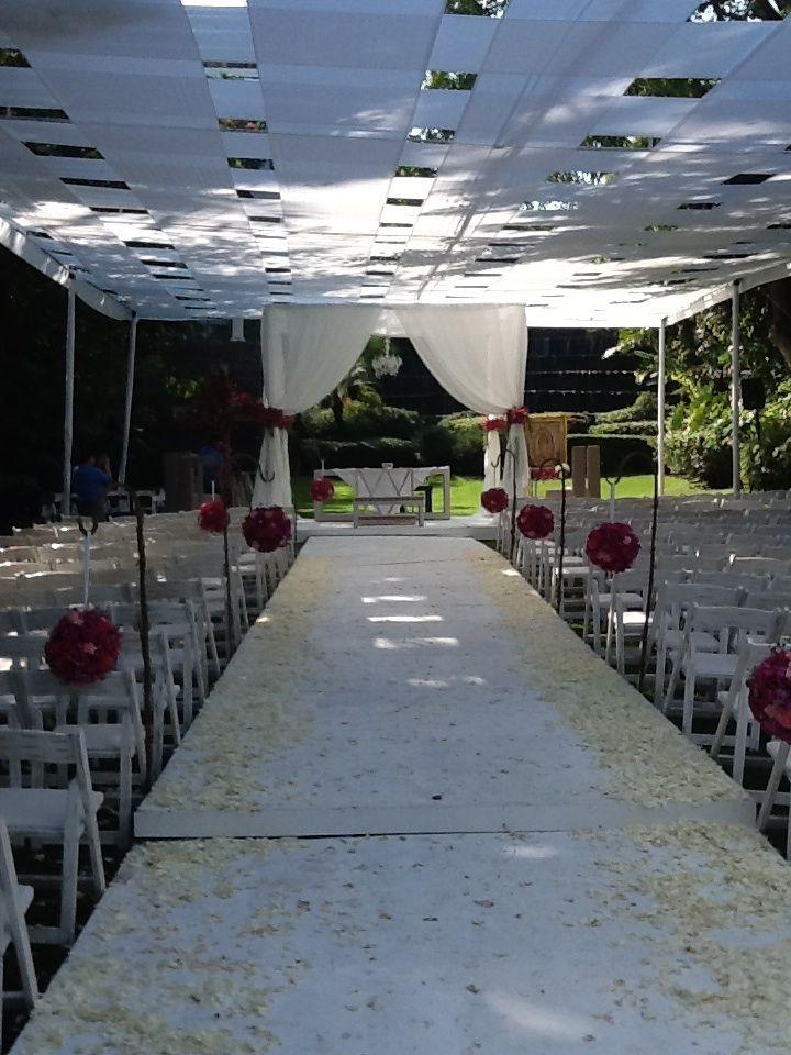 Ceremonia religiosa boda jard n villa serrano claudia y Jardin villa serrano cuernavaca