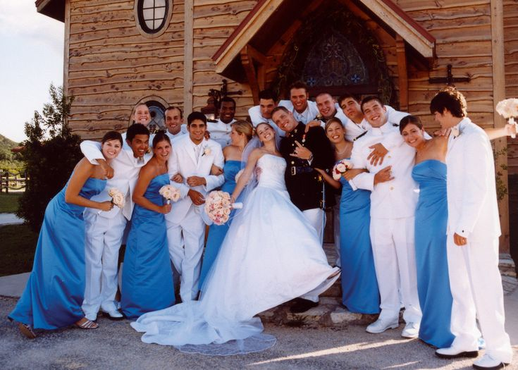 Marine Corps Wedding Party Our Amazing