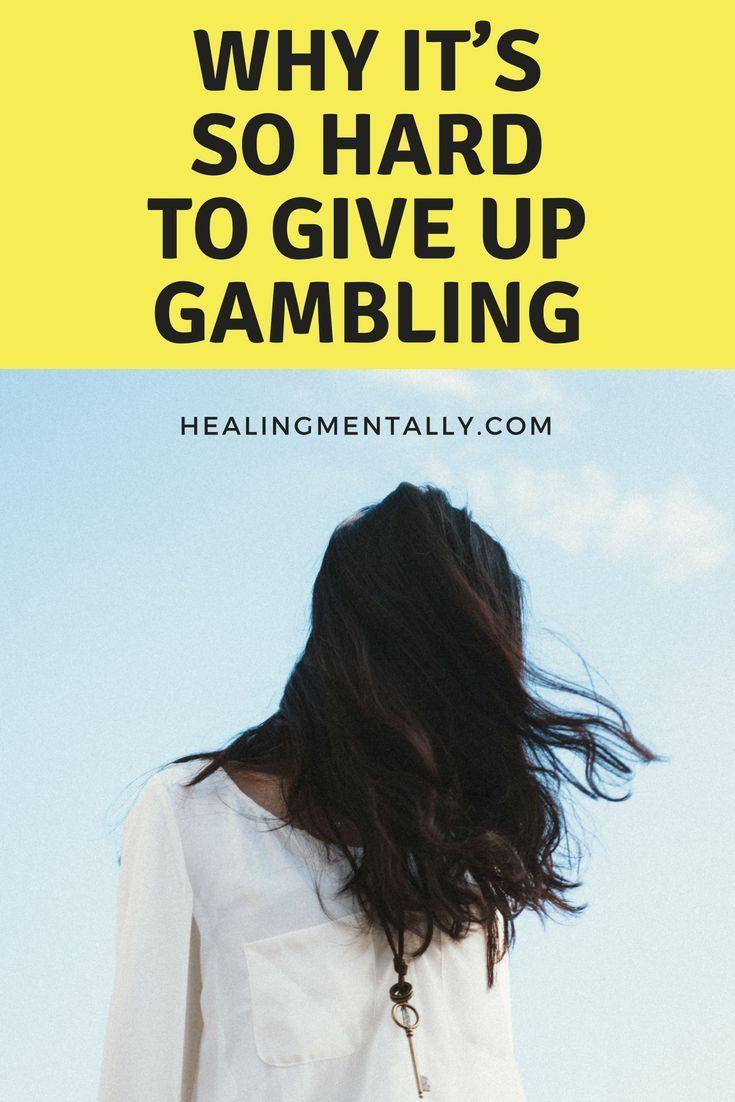 Giving up gambling hypnosis for gambling addiction
