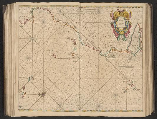 Page 18 Zee-atlas; Colom, Arnold 1656? Albert and Shirley Small Special Collections Library, University of Virginia. http://search.lib.virginia.edu/catalog/uva-lib:2287415/view#openLayer/uva-lib:2380019/6488/8520/2/1/0