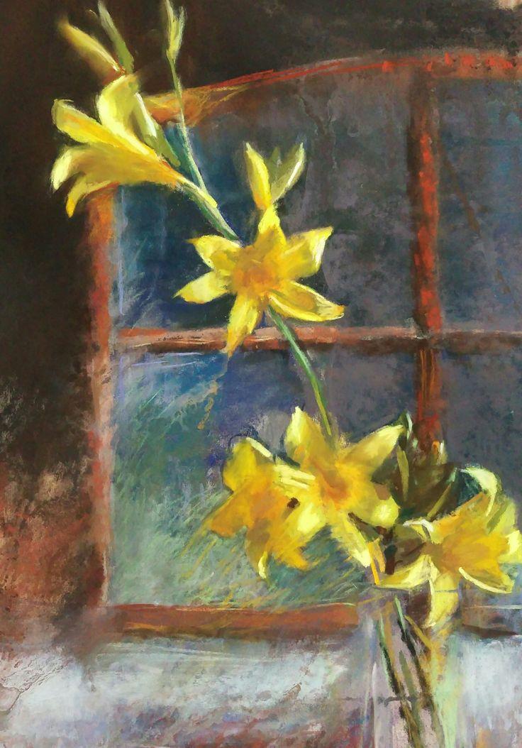 Pastel painting by Silja Salmistu