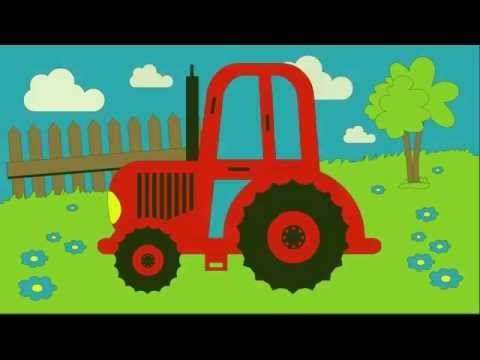 Kolorowanka - Kolorowanie Traktora - Nauka kolorów dla dzieci | CzyWieszJak - YouTube